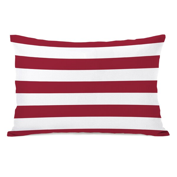 Stars and Stripes Reversible Lumbar Pillow by One Bella Casa