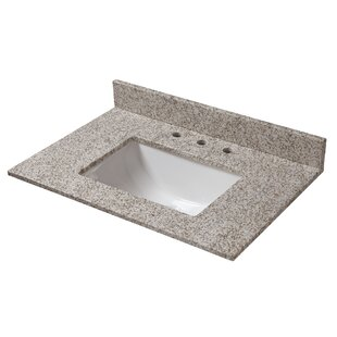 Top Reviews Granite 31 Single Bathroom Vanity Top By Halstead International