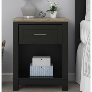 Callowhill 1 Drawer Nightstand by Mercury Row