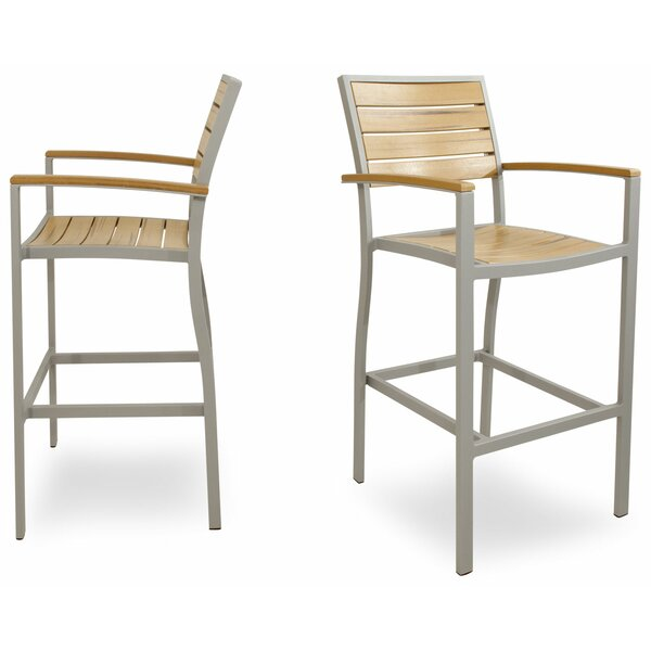 Loft Bar Arm Chair Set (Set of 2) by Ivy Terrace