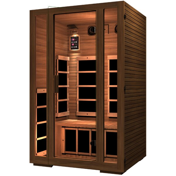 Freedom 2 Person FAR Infrared Sauna by JNH Lifestyles