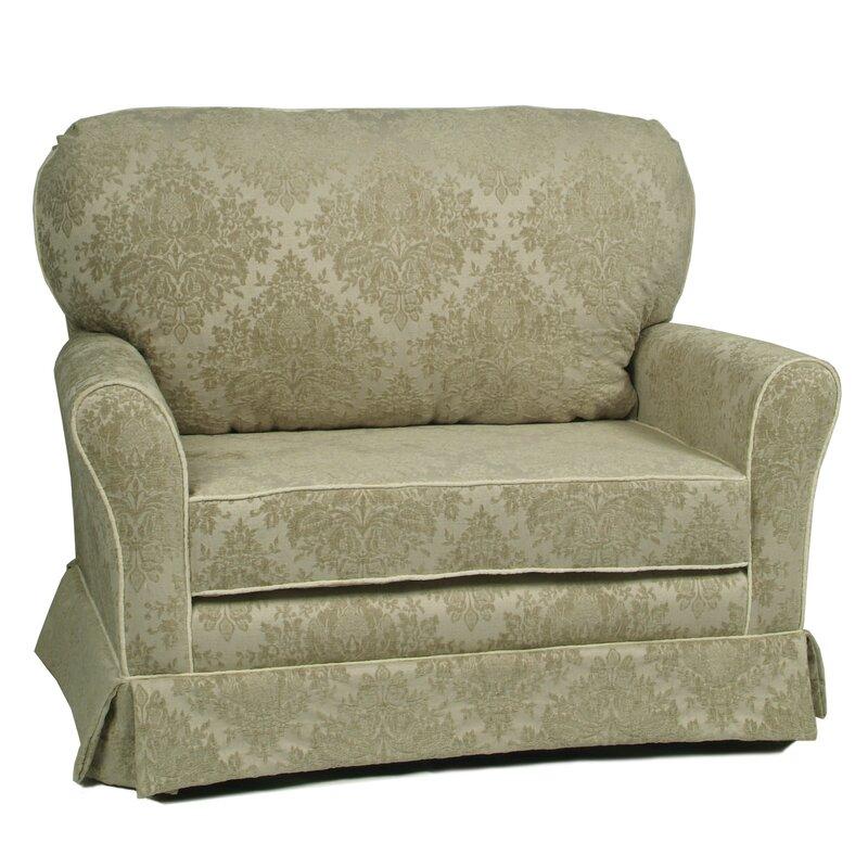 Cottage Chair and a Half Glider  sc 1 st  Wayfair & Little Castle Cottage Chair and a Half Glider u0026 Reviews   Wayfair