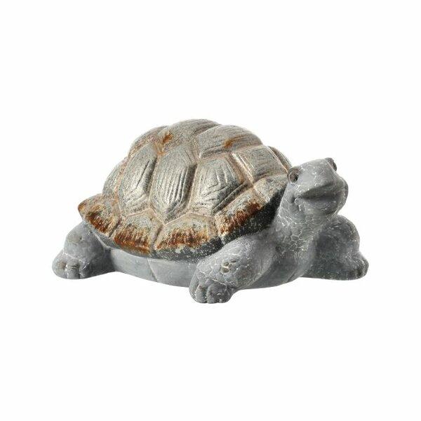 Deerfield Terracotta Turtle Figurine by Bay Isle Home