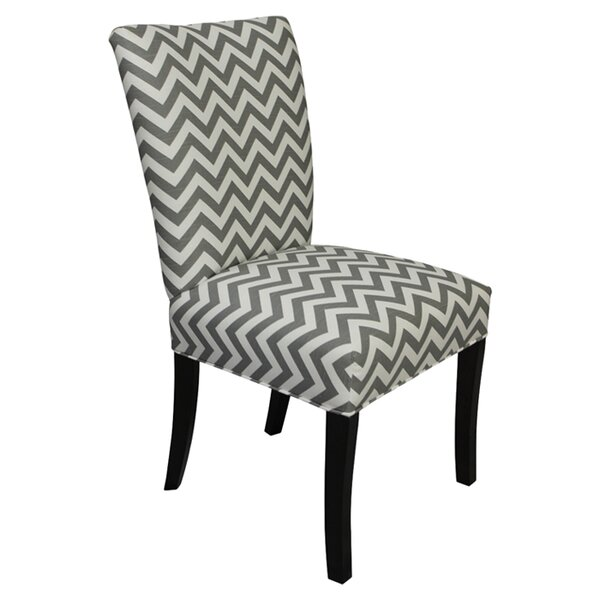Julia Upholstered Side Chair In Gray (Set Of 2) By Sole Designs