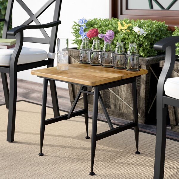 Frankston Solid Wood Side Table by Gracie Oaks