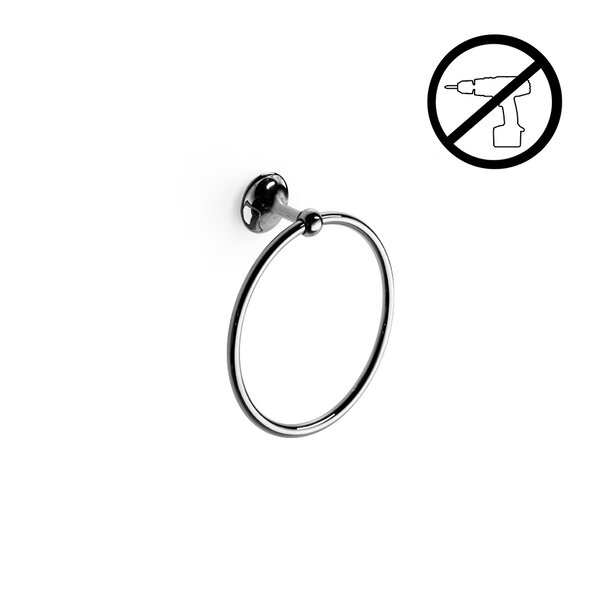 Venessia Wall Mounted Self-Adhesive Towel Ring by WS Bath Collections