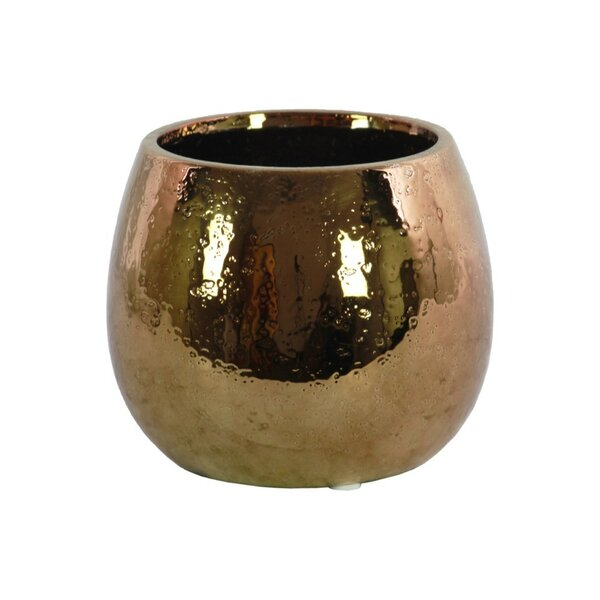 Peek Ceramic Round Table Vase by World Menagerie