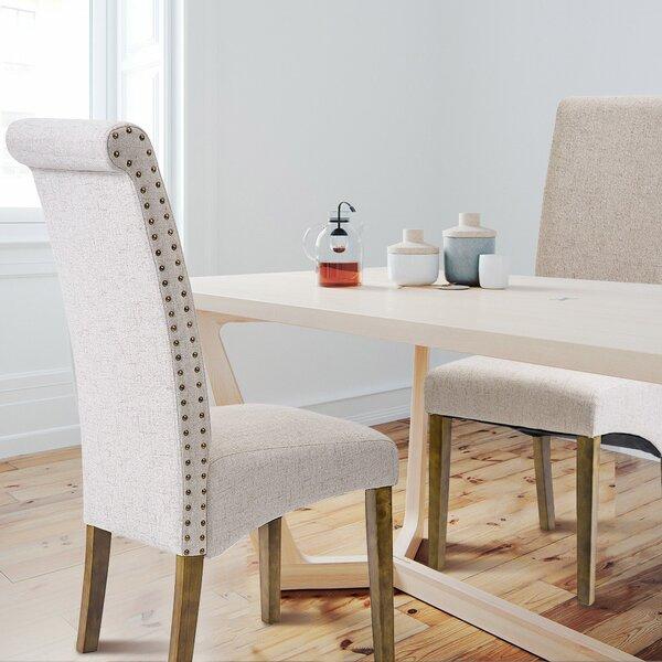 Garrard Velvet Upholstered Dining Chair (Set Of 2) By Alcott Hill