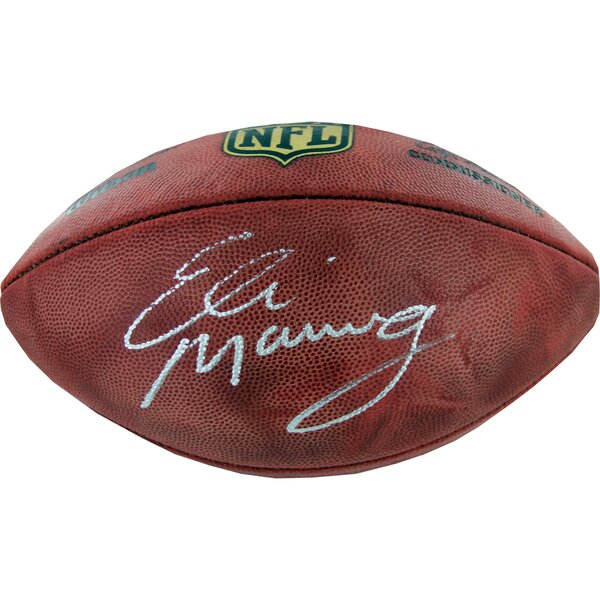 Eli Manning Signed Duke Football by Steiner Sports
