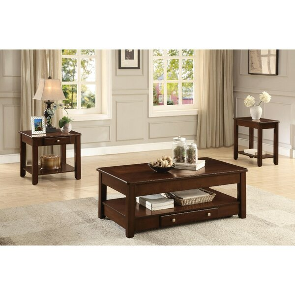 Bellin 3 Piece Coffee Table Set by Canora Grey