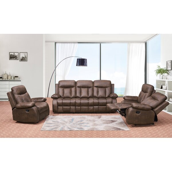 Dove Springs Reclining  3 Piece Living Room Set by Red Barrel Studio
