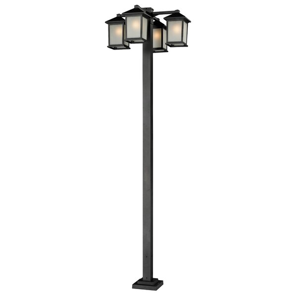 Stevens Outdoor 4-Light 99 Post Light by Andover Mills