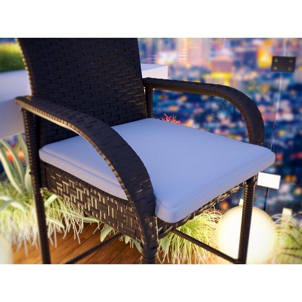 Ketterman  Indoor/Outdoor Sunbrella Dining Chair Cushion by Brayden Studio Brayden Studio