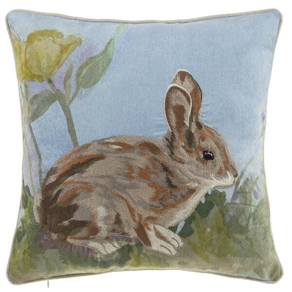 Brungardt Bunny Throw Pillow by August Grove