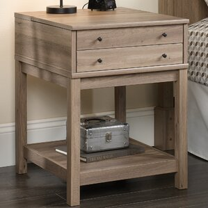 Bowerbank End Table by Beachcrest Home