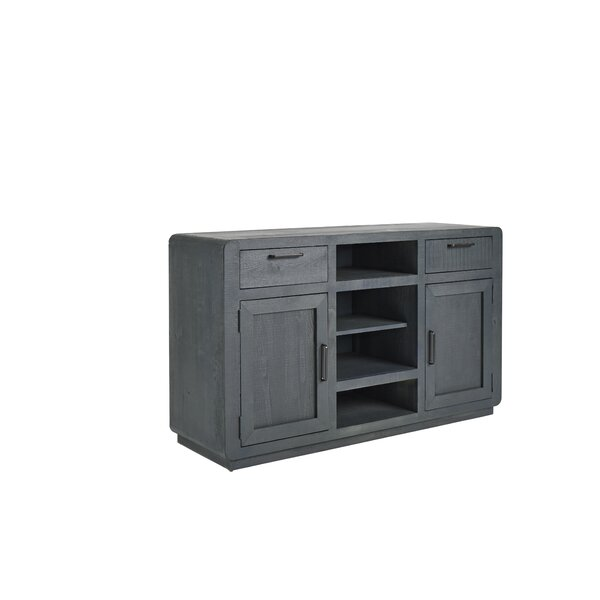 Harbuck Solid Wood TV Stand For TVs Up To 60