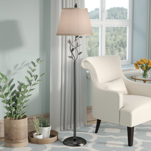 Schofield 58 Floor Lamp by Three Posts