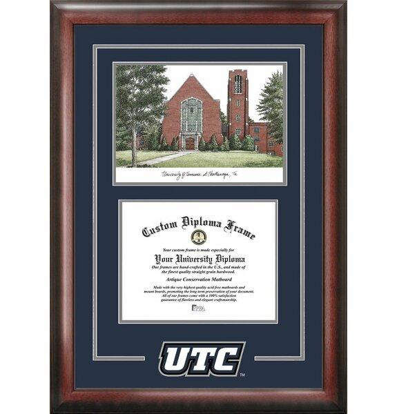 Campus Images Ncaa Utc Mocs Spirit Graduate Diploma With Campus Images Lithograph Frame Wayfair