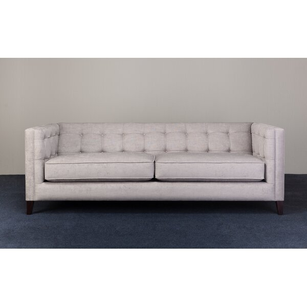 Sala Chesterfield Loveseat by Ebb and Flow Furniture