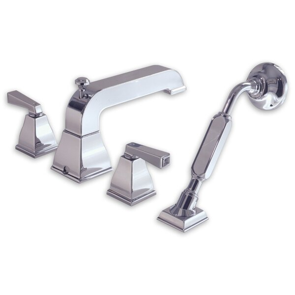 Town Square Double Handle Deck Mount Bath Tub Faucet with Hand Shower by American Standard