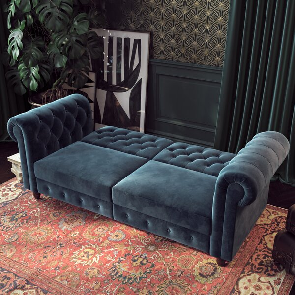 Online Shopping Aranza Chesterfield Sofa Get The Deal! 65% Off