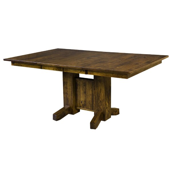 Ridenhour Solid Wood Dining Table by Loon Peak Loon Peak