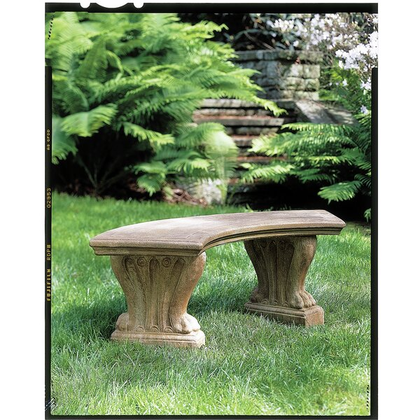 Malagrida Curved West Chester Bench by Astoria Grand