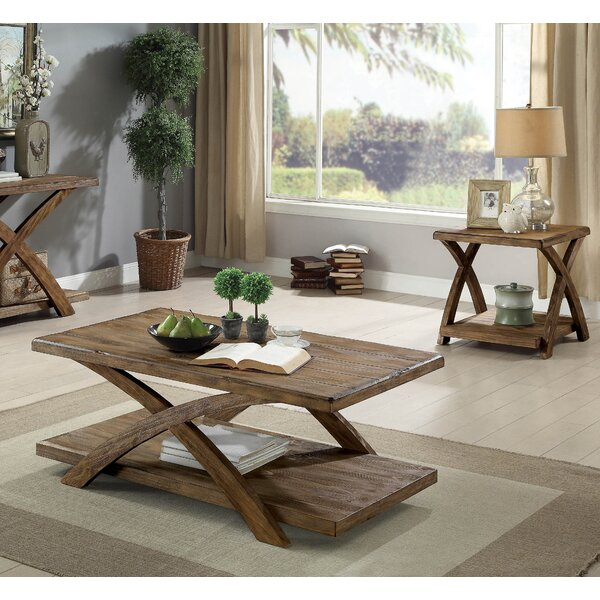 Briana 3 Piece Coffee Table Set by Foundry Select