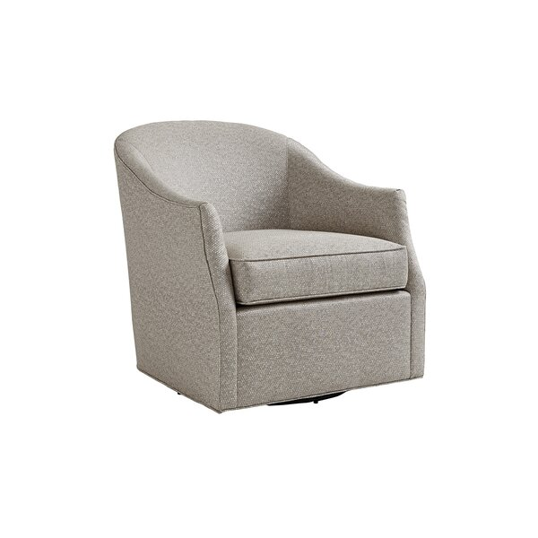 Ariana Escala Swivel Barrel Chair by Lexington