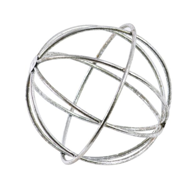 Moraine Looping Orb Dyson Sphere Design Sculpture by Rosecliff Heights