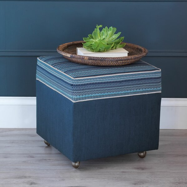 Martinique Storage Ottoman by Eastern Accents
