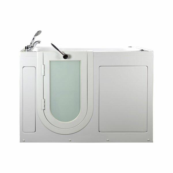 Lounger 59 x 26.75 Walk-In Whirlpool Tub by Ella Walk In Baths