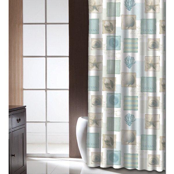Burdette Shower Curtain By Highland Dunes.
