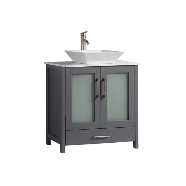 Preciado Modern 30 Single Bathroom Vanity Set by Orren Ellis