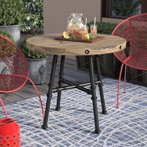 Metal Bistro Table by Alcott Hill