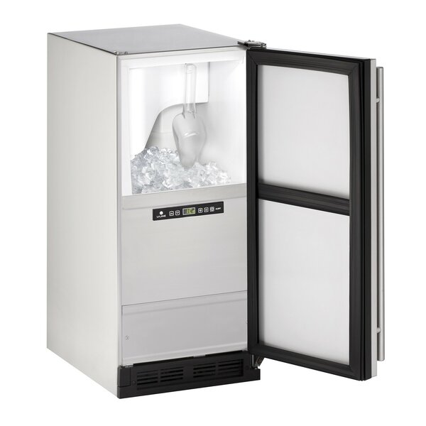 Outdoor Reversible 15 60 lb. Daily Production Built-in Ice Maker by U-Line
