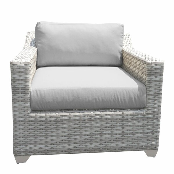 Ansonia Patio Chair with Cushions by Rosecliff Heights