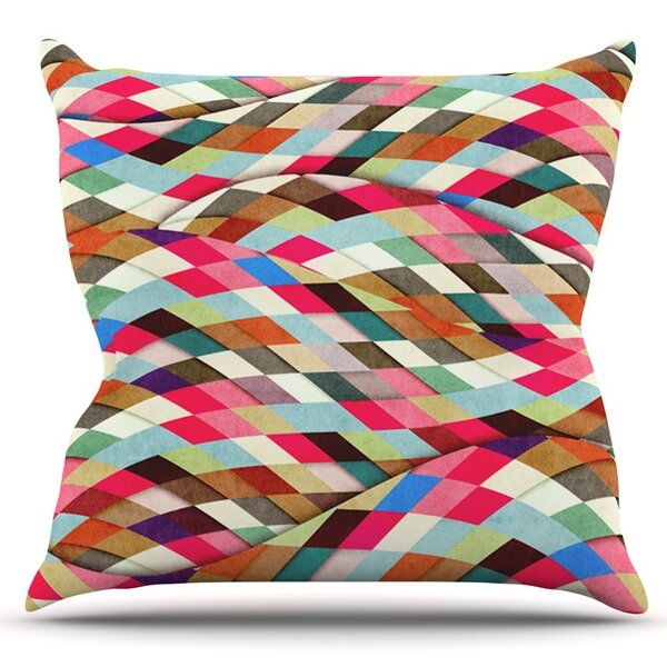 Adored by Danny Ivan Outdoor Throw Pillow by East Urban Home