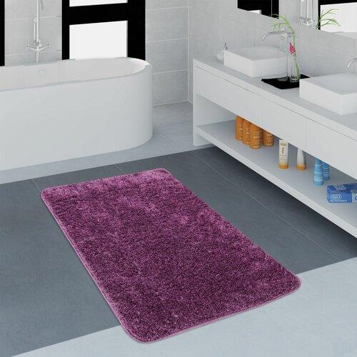 Badteppich Gile ClearAmbient Größe: 40 x 55 cm  Farbe: Lila   Bad > Badgarnituren > Läufer & Matten   ClearAmbient