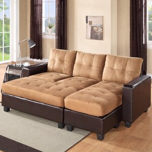 Norris Diamond Sleeper Sectional : down couch sectional - Sectionals, Sofas & Couches