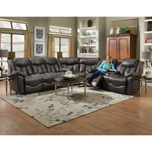 Jenkins Reclining Sectional Red Barrel Studio