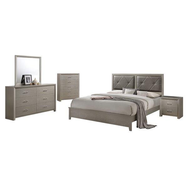 Whatley Standard 4 Piece Bedroom Set by Mercer41