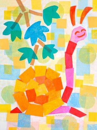 Joanie the Snail Canvas Art by Oopsy Daisy