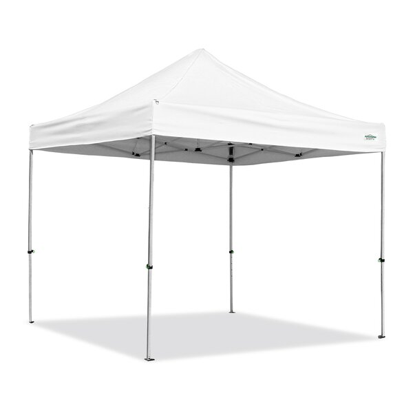 AlumaShade 10 Ft. W x 10 Ft. D Aluminum Pop-Up Canopy by Caravan Canopy