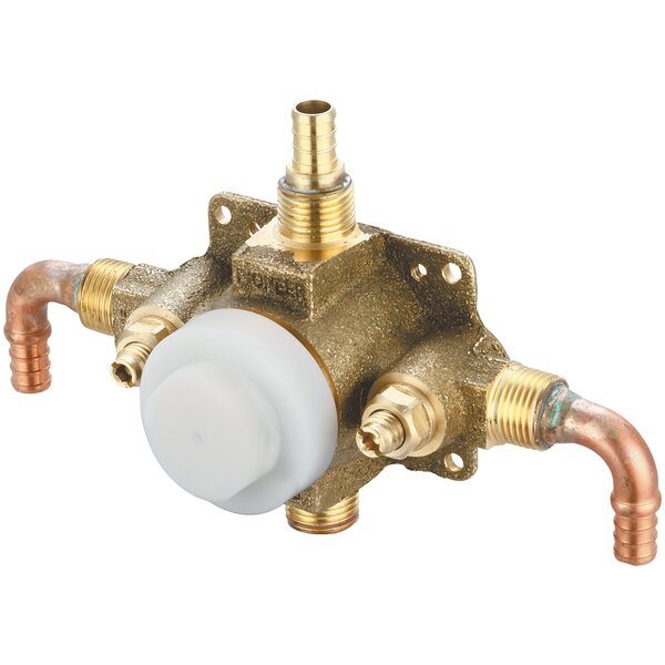 Single Handle Pressure Balance Tub and Shower Valve Set by Pioneer