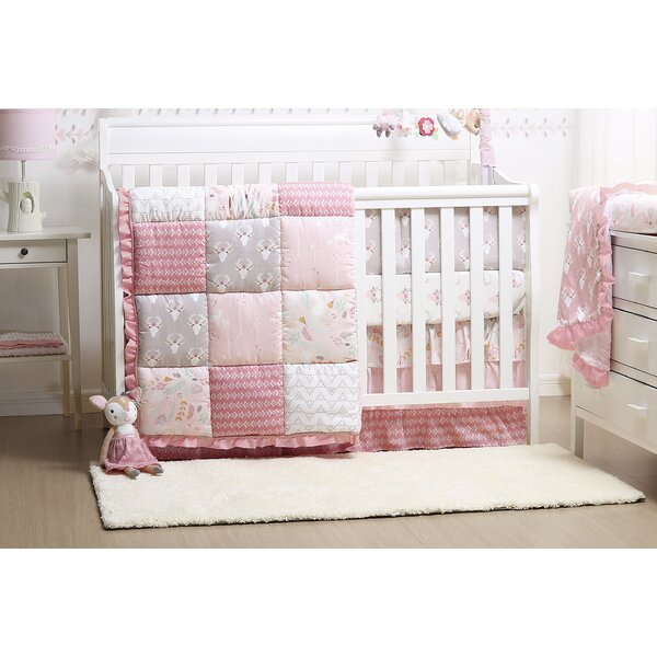 Woodland Whimsy 4 Piece Crib Bedding Set by The Pe