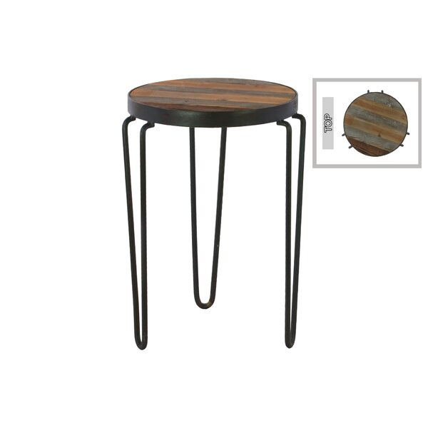 Sherryl Round Metal 3 Hairpin Leg Accent Stool by Williston Forge