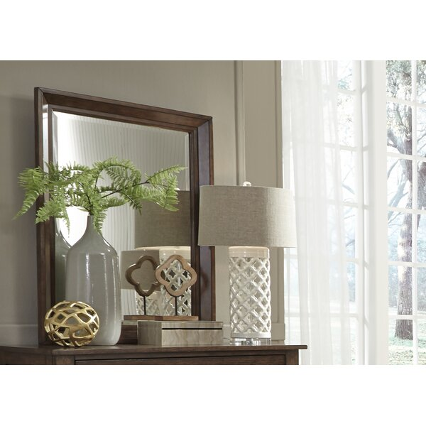 Pearse Square Dresser Mirror by Charlton Home