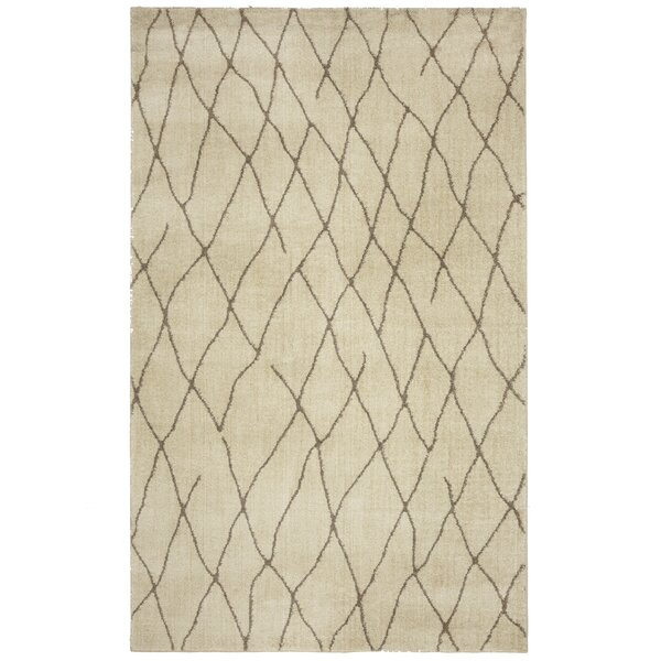 Gilson Taupe Area Rug by Breakwater Bay