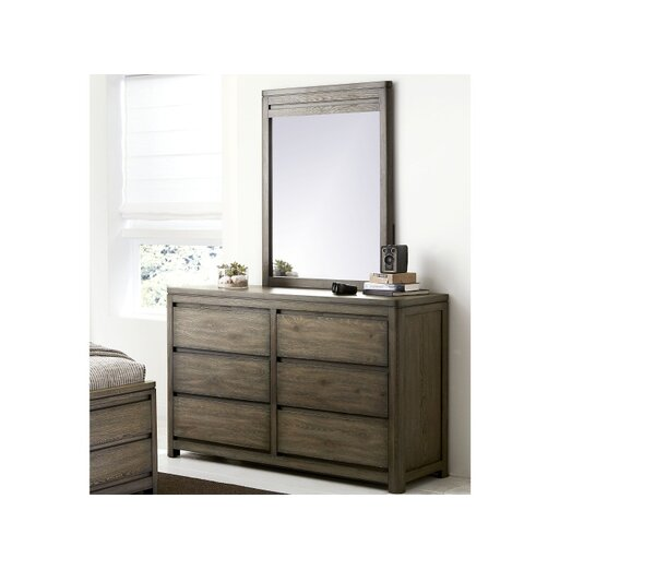 Big Sky by Wendy Bellissimo Rectangular Dresser Mirror by Wendy Bellissimo by LC Kids